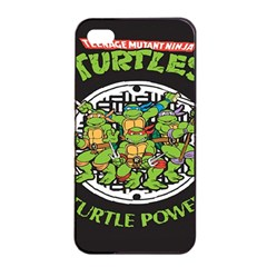 Teenage Mutant Ninja Turtles Hero Apple Iphone 4/4s Seamless Case (black)