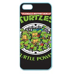 Teenage Mutant Ninja Turtles Hero Apple Seamless Iphone 5 Case (color)