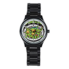 Teenage Mutant Ninja Turtles Hero Stainless Steel Round Watch