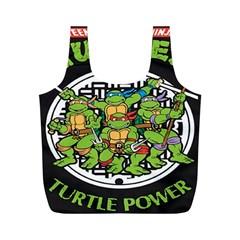 Teenage Mutant Ninja Turtles Hero Full Print Recycle Bags (m)
