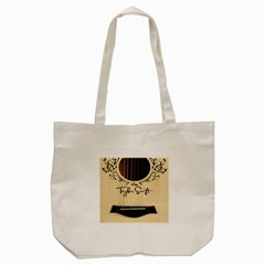 Classic Vintage Guitar Tote Bag (cream)