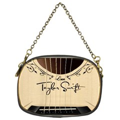 Classic Vintage Guitar Chain Purses (one Side)