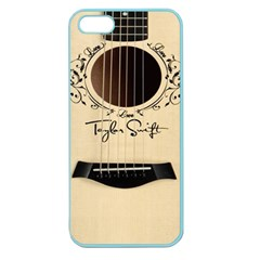 Classic Vintage Guitar Apple Seamless Iphone 5 Case (color)