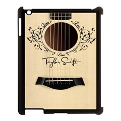 Classic Vintage Guitar Apple Ipad 3/4 Case (black)