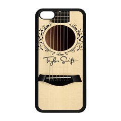 Classic Vintage Guitar Apple Iphone 5c Seamless Case (black)