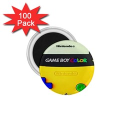 Game Boy Yellow 1 75  Magnets (100 Pack)