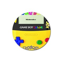 Game Boy Yellow Magnet 3  (round)