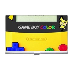 Game Boy Yellow Business Card Holders by Samandel