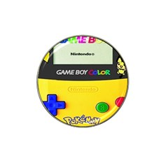 Game Boy Yellow Hat Clip Ball Marker (10 Pack)