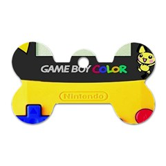 Game Boy Yellow Dog Tag Bone (two Sides)