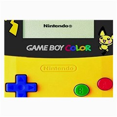 Game Boy Yellow Large Glasses Cloth