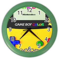 Game Boy Yellow Color Wall Clocks