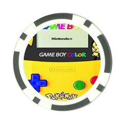Game Boy Yellow Poker Chip Card Guard by Samandel