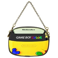 Game Boy Yellow Chain Purses (two Sides)
