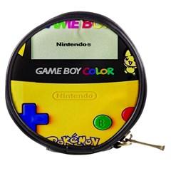 Game Boy Yellow Mini Makeup Bags