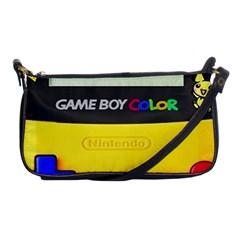 Game Boy Yellow Shoulder Clutch Bags