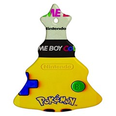 Game Boy Yellow Christmas Tree Ornament (two Sides)