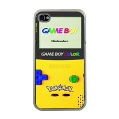 Game Boy Yellow Apple Iphone 4 Case (clear)
