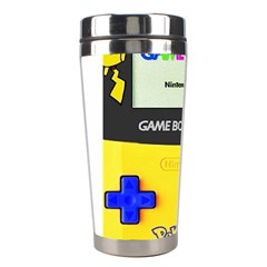 Game Boy Yellow Stainless Steel Travel Tumblers