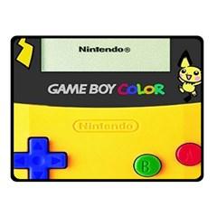 Game Boy Yellow Double Sided Fleece Blanket (small)