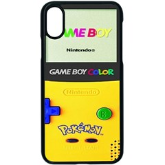 Game Boy Yellow Apple Iphone X Seamless Case (black)