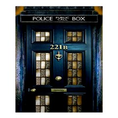 Tardis Sherlock Holmes 221b Shower Curtain 60  X 72  (medium)