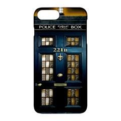 Tardis Sherlock Holmes 221b Apple Iphone 7 Plus Hardshell Case