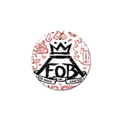 Save Rock And Roll Fob Fall Out Boy Golf Ball Marker (10 Pack)