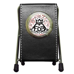 Save Rock And Roll Fob Fall Out Boy Pen Holder Desk Clocks