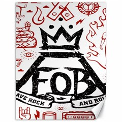 Save Rock And Roll Fob Fall Out Boy Canvas 18  X 24