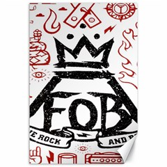 Save Rock And Roll Fob Fall Out Boy Canvas 24  X 36