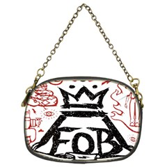 Save Rock And Roll Fob Fall Out Boy Chain Purses (two Sides)