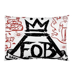 Save Rock And Roll Fob Fall Out Boy Pillow Case by Samandel