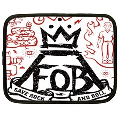 Save Rock And Roll Fob Fall Out Boy Netbook Case (xxl)