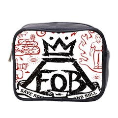 Save Rock And Roll Fob Fall Out Boy Mini Toiletries Bag 2 Side