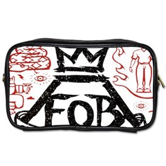 Save Rock And Roll Fob Fall Out Boy Toiletries Bags 2 Side
