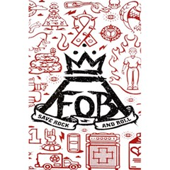 Save Rock And Roll Fob Fall Out Boy 5 5  X 8 5  Notebooks