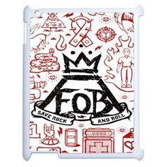 Save Rock And Roll Fob Fall Out Boy Apple Ipad 2 Case (white)