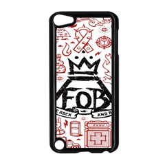 Save Rock And Roll Fob Fall Out Boy Apple Ipod Touch 5 Case (black) by Samandel