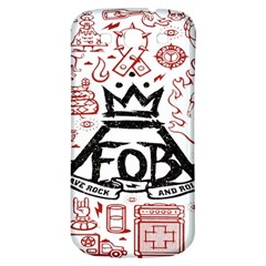 Save Rock And Roll Fob Fall Out Boy Samsung Galaxy S3 S Iii Classic Hardshell Back Case