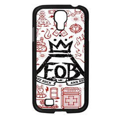 Save Rock And Roll Fob Fall Out Boy Samsung Galaxy S4 I9500/ I9505 Case (black)
