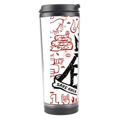 Save Rock And Roll Fob Fall Out Boy Travel Tumbler by Samandel