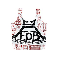 Save Rock And Roll Fob Fall Out Boy Full Print Recycle Bags (s)  by Samandel