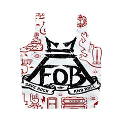 Save Rock And Roll Fob Fall Out Boy Full Print Recycle Bags (m)  by Samandel