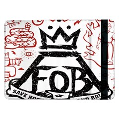 Save Rock And Roll Fob Fall Out Boy Samsung Galaxy Tab Pro 12 2  Flip Case