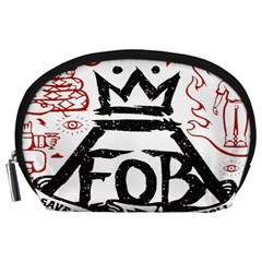 Save Rock And Roll Fob Fall Out Boy Accessory Pouches (large)
