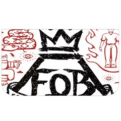 Save Rock And Roll Fob Fall Out Boy Lunch Bag by Samandel