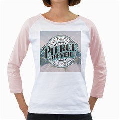 Pierce The Veil San Diego California Girly Raglans