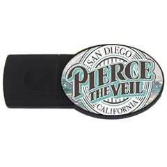 Pierce The Veil San Diego California Usb Flash Drive Oval (2 Gb)