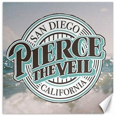 Pierce The Veil San Diego California Canvas 16  X 16